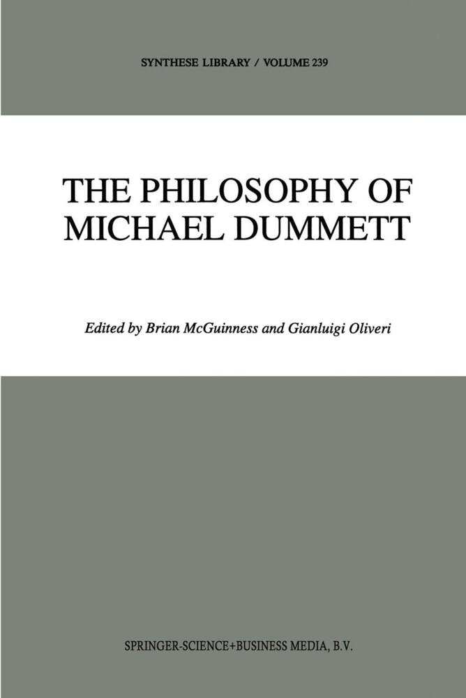 The Philosophy of Michael Dummett als Buch