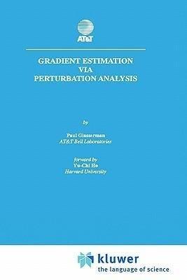 Gradient Estimation Via Perturbation Analysis als Buch (gebunden)