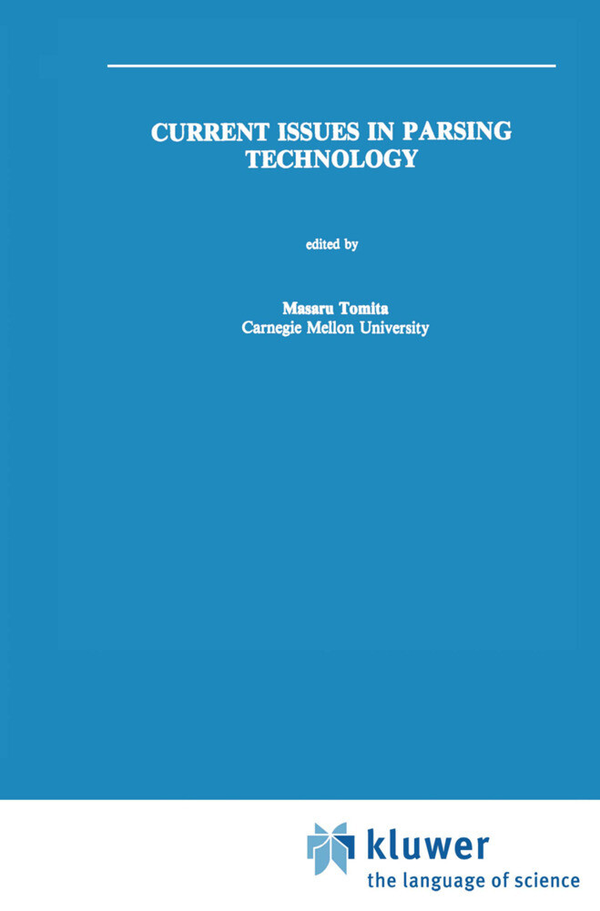 Current Issues in Parsing Technology als Buch