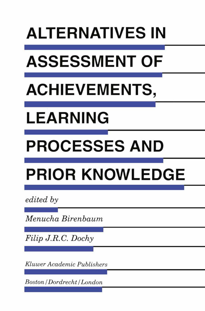 Alternatives in Assessment of Achievements, Learning Processes and Prior Knowledge als Buch