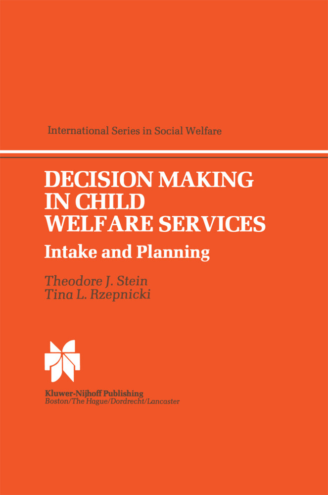 Decision Making in Child Welfare Services als Buch