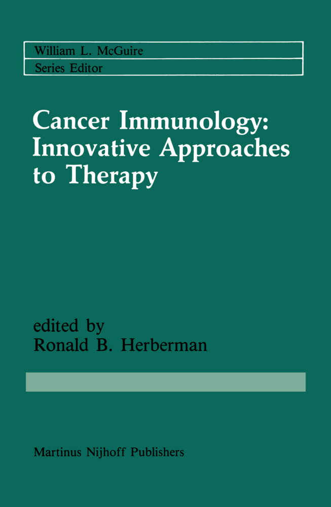 Cancer Immunology: Innovative Approaches to The...