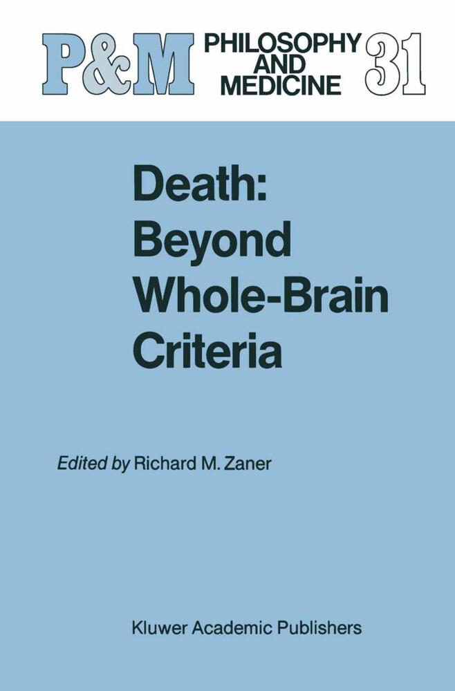 Death: Beyond Whole-Brain Criteria als Buch