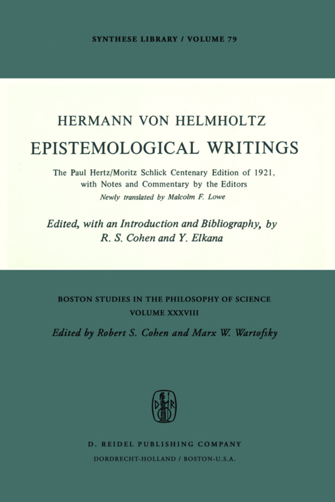 Epistemological Writings als Buch