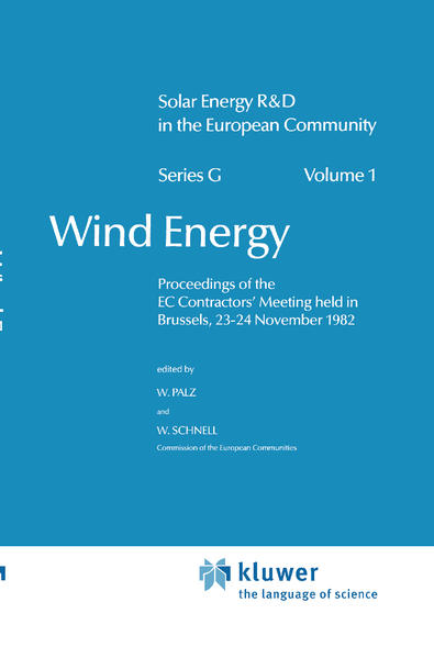 Wind Energy als Buch