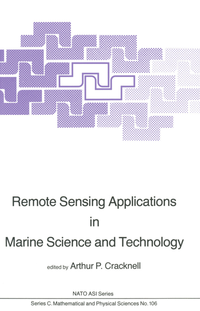 Remote Sensing Applications in Marine Science and Technology als Buch