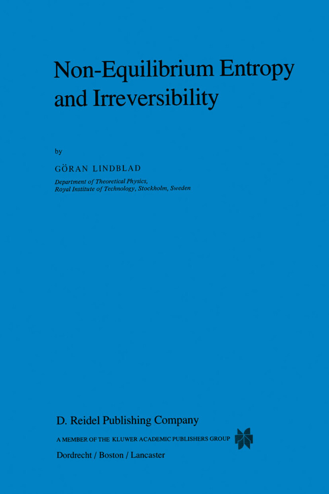 Non-Equilibrium Entropy and Irreversibility als Buch