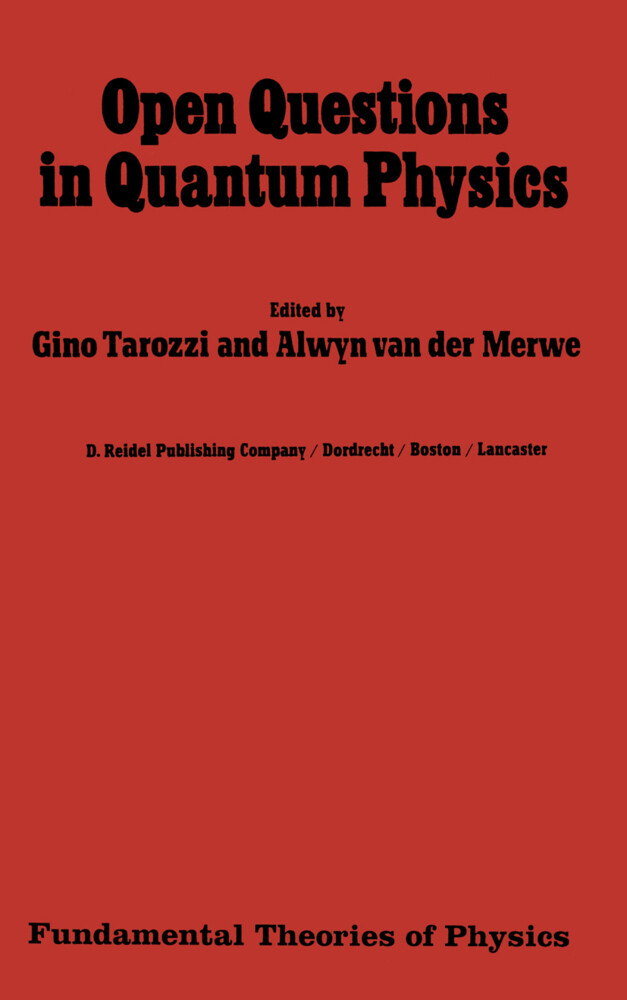 Open Questions in Quantum Physics als Buch