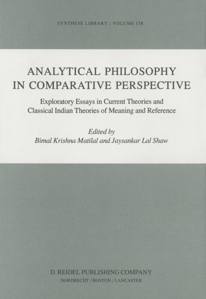 Analytical Philosophy in Comparative Perspective als Buch