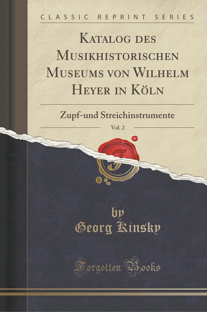 Katalog des Musikhistorischen Museums von Wilhe...