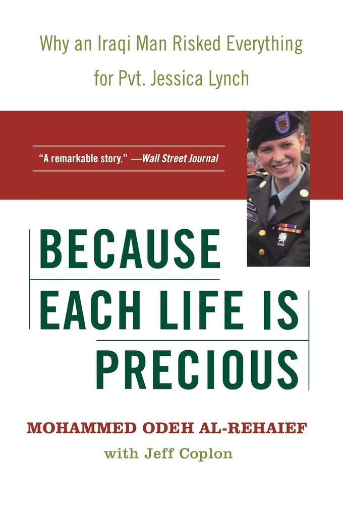 Because Each Life Is Precious als Taschenbuch