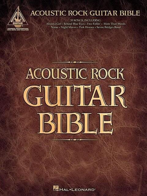 Acoustic Rock Guitar Bible als Taschenbuch