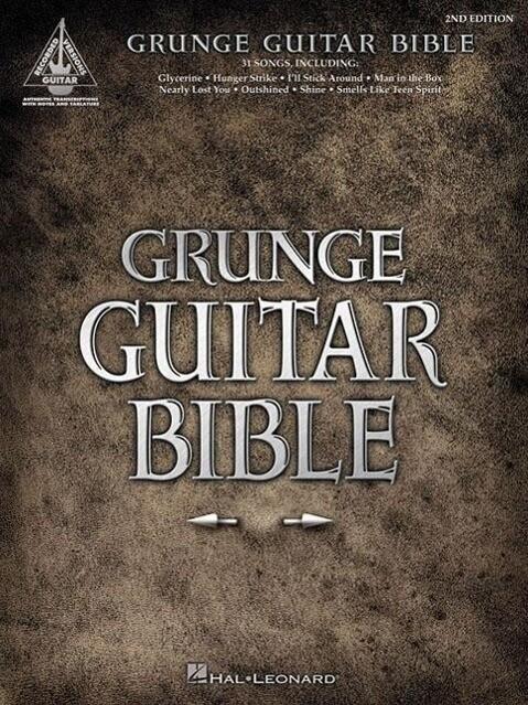 Grunge Guitar Bible als Taschenbuch