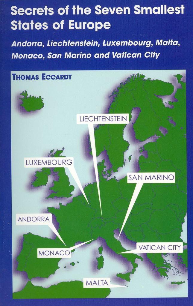 Secrets of the Seven Smallest States of Europe als Taschenbuch