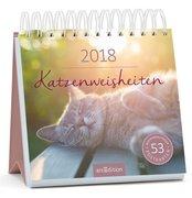 Katzenweisheiten 2018 Postkartenkalender