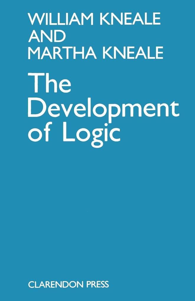 The Development of Logic als Buch