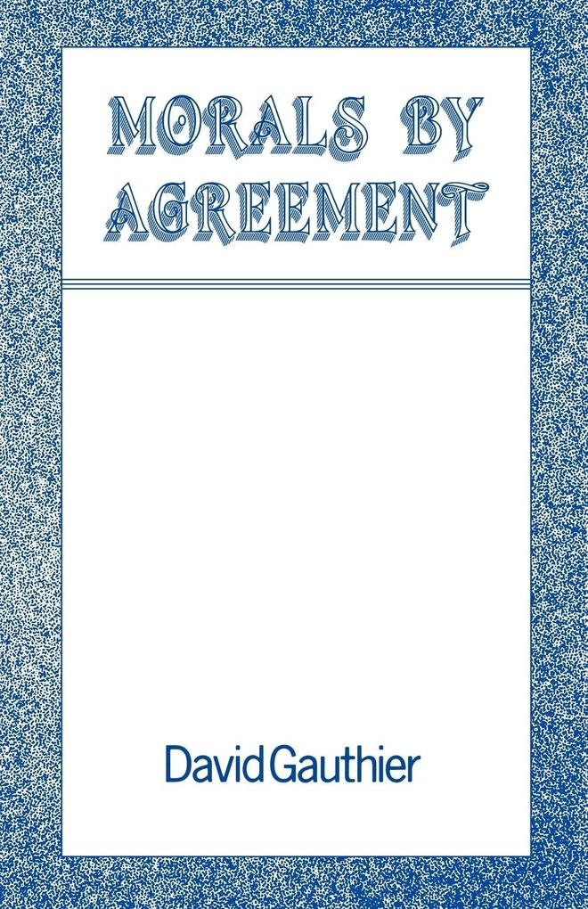 Morals by Agreement als Buch