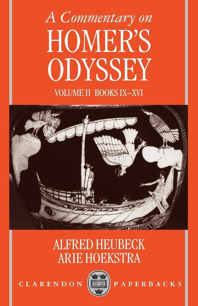 A Commentary on Homer's Odyssey: Volume II: Books IX-XVI als Buch