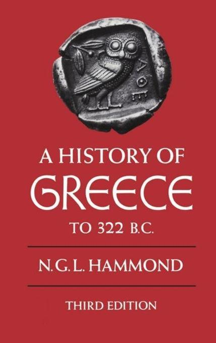 A History of Greece to 322 B.C. als Buch