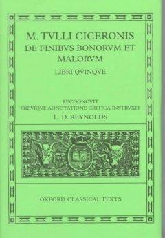 de Finibus Bonorum Et Malorum: Libri Quinque als Buch