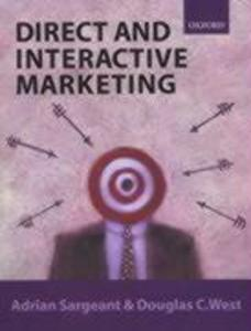 Direct and Interactive Marketing als Buch