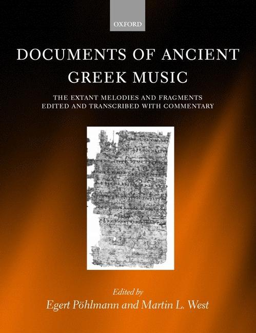 Documents of Ancient Greek Music als Buch