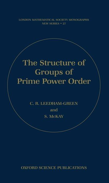 The Structure of Groups of Prime Power Order als Buch
