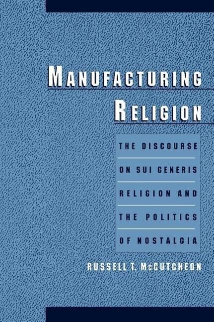 Manufacturing Religion als Buch