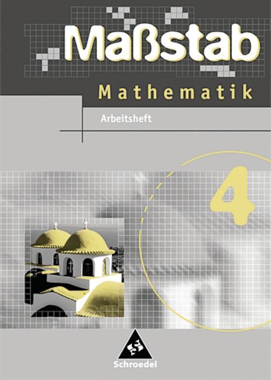 Massstab 4. Mathematik. Arbeitsheft. Baden-Württemberg. Hauptschule. Ausgabe 2004 als Buch