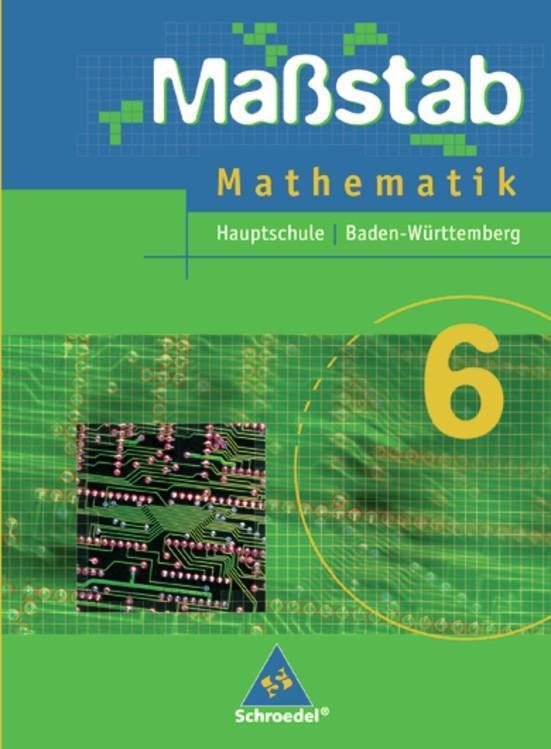 Maßstab 6. Mathematik Baden-Württemberg. Hauptschule als Buch