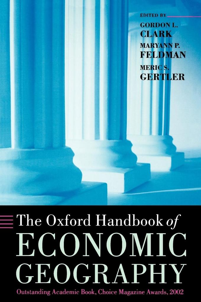 The Oxford Handbook of Economic Geography als Buch