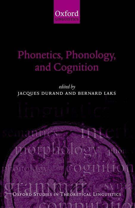 Phonetics, Phonology, and Cognition als Buch