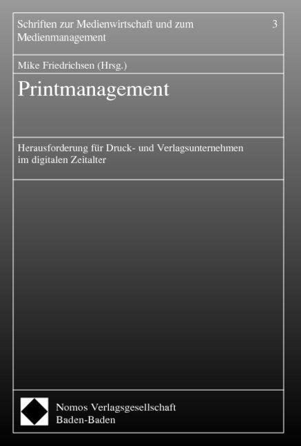 Printmanagement als Buch