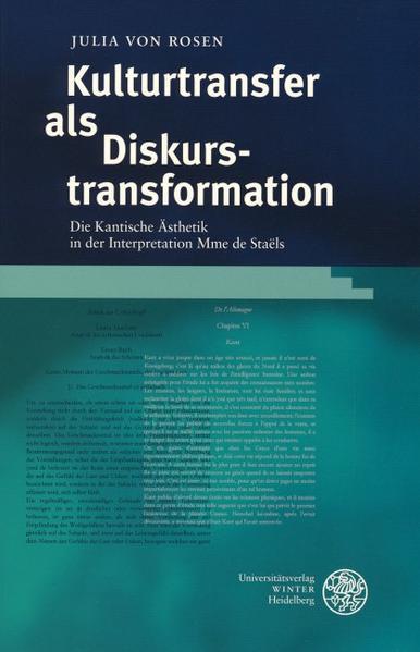 Kulturtransfer als Diskurstransformation als Buch