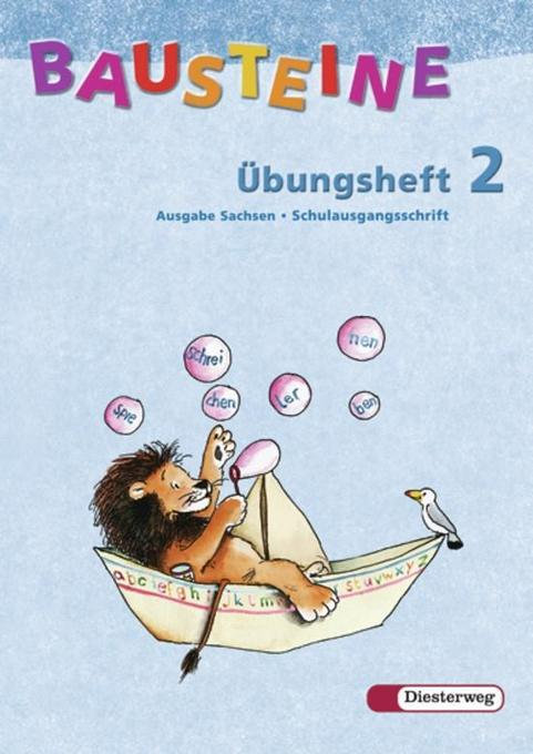 Bausteine Übungsheft 2. Schulausgangsschrift. Sachsen als Buch