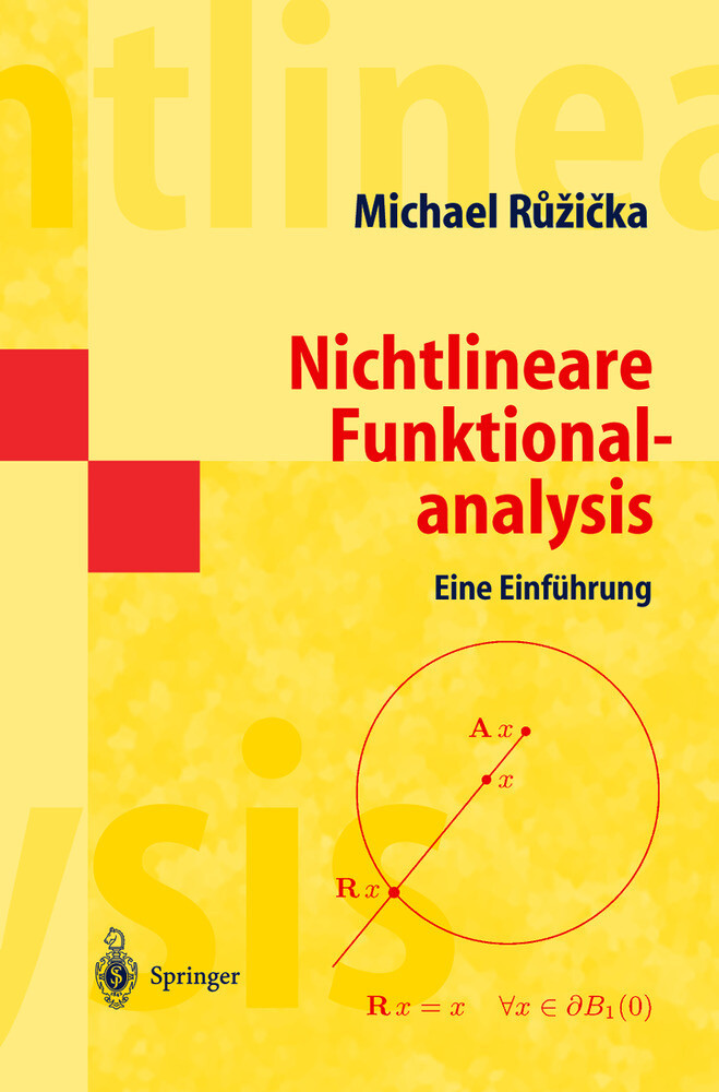 Nichtlineare Funktionalanalysis als Buch