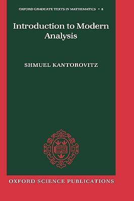 Introduction to Modern Analysis als Buch