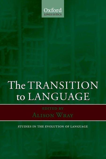 The Transition to Language als Buch