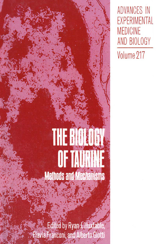 The Biology of Taurine als Buch