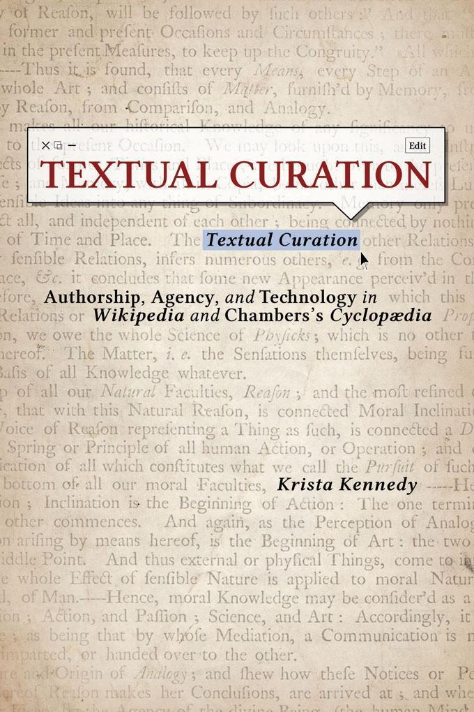 Textual Curation als eBook Download von Krista ...