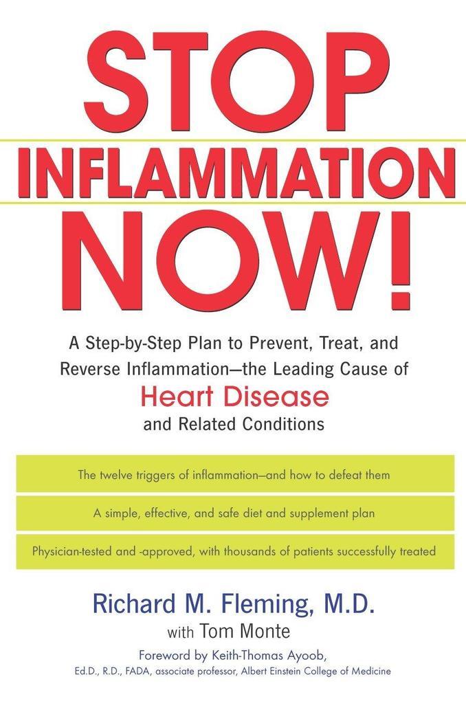 Stop Inflammation Now! als Taschenbuch