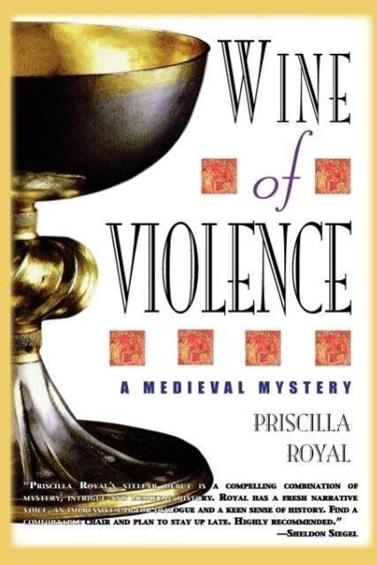Wine of Violence - Large Print als Taschenbuch