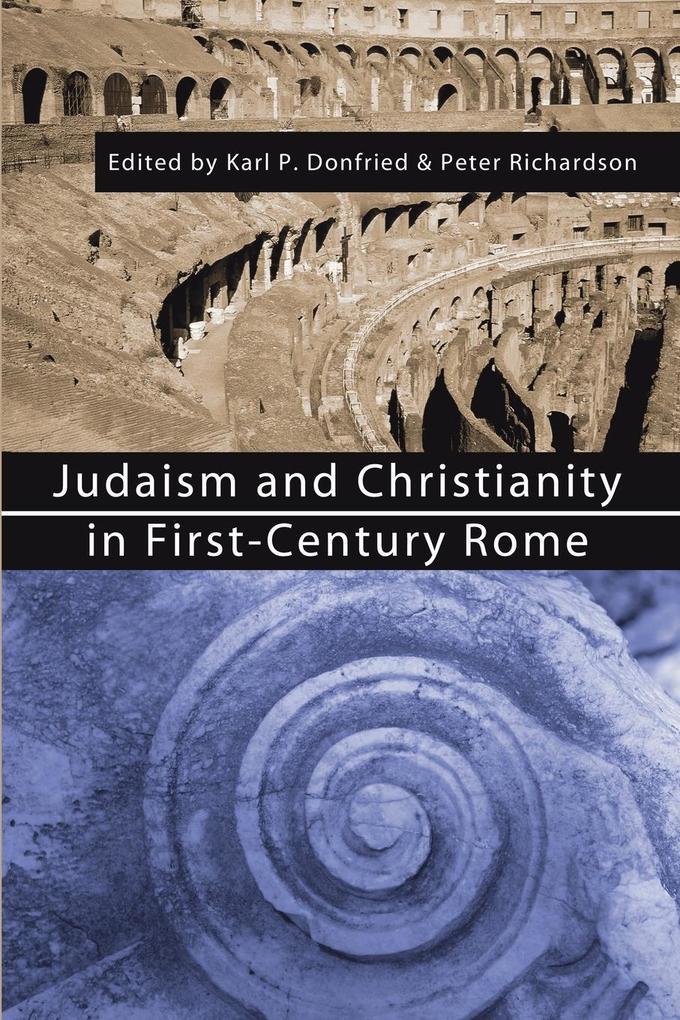 Judaism and Christianity in First-Century Rome als Taschenbuch