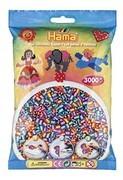 Hama 201-92 - Bügelperlen gestreift (3000 mehrfarbig)