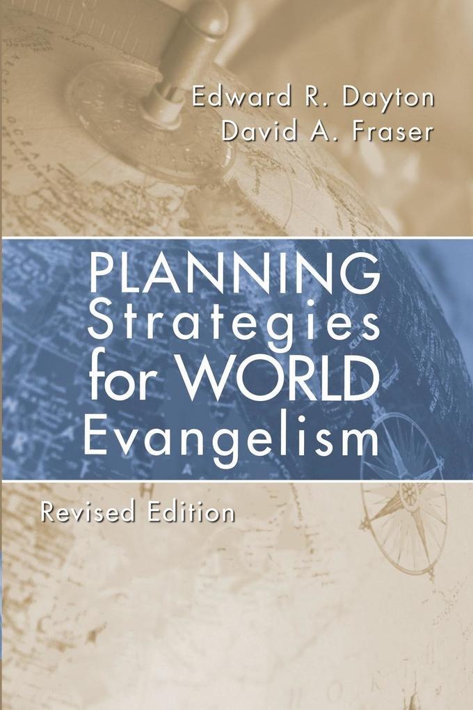 Planning Strategies for World Evangelization als Taschenbuch