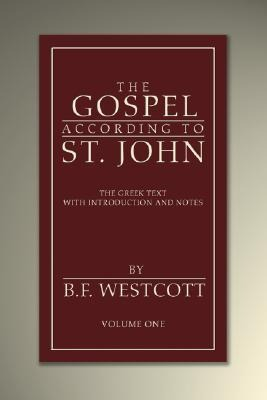 The Gospel According to St. John: The Greek Text with Introduction and Notes als Taschenbuch