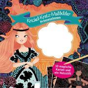 Krickel-Kratz-Malbilder. Prinzessinnen