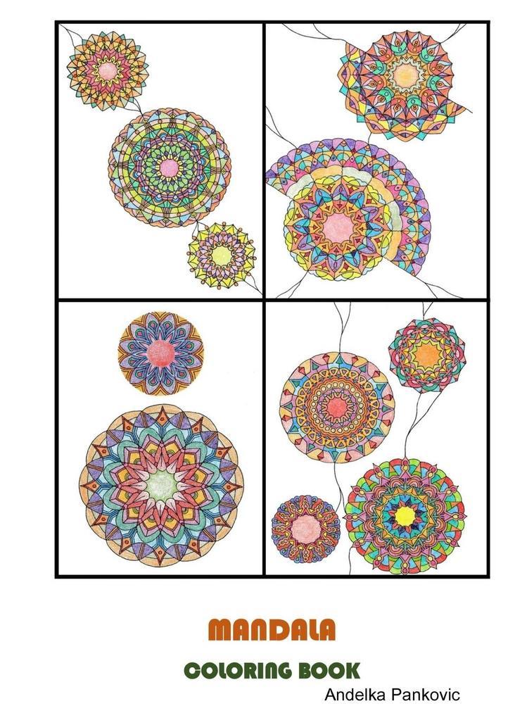 MANDALA - Coloring book for adults