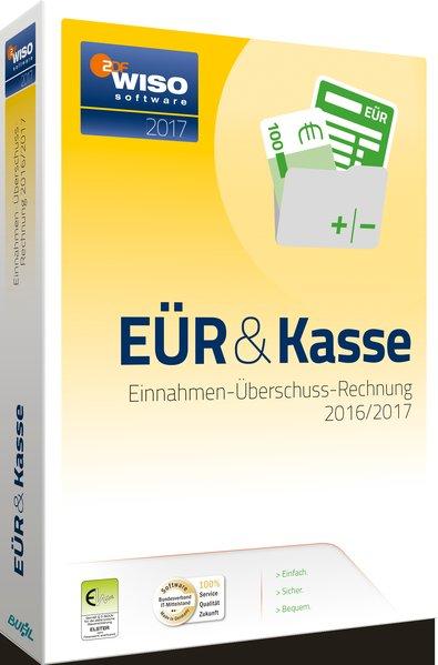 WISO EÜR & Kasse 2017, CD-ROM