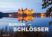 Burgen und Schlösser (Tischkalender 2017 DIN A5 quer)